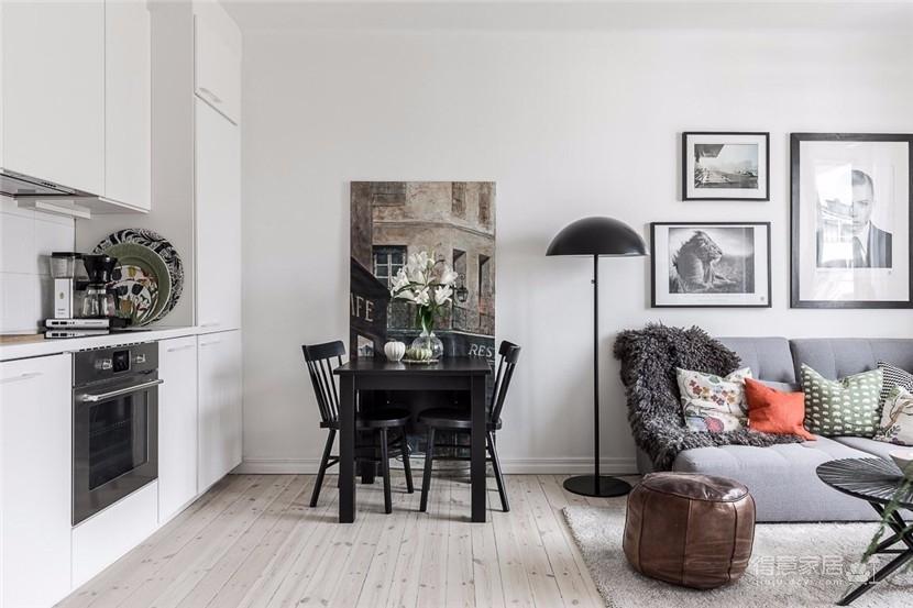 北欧32平米小户型公寓