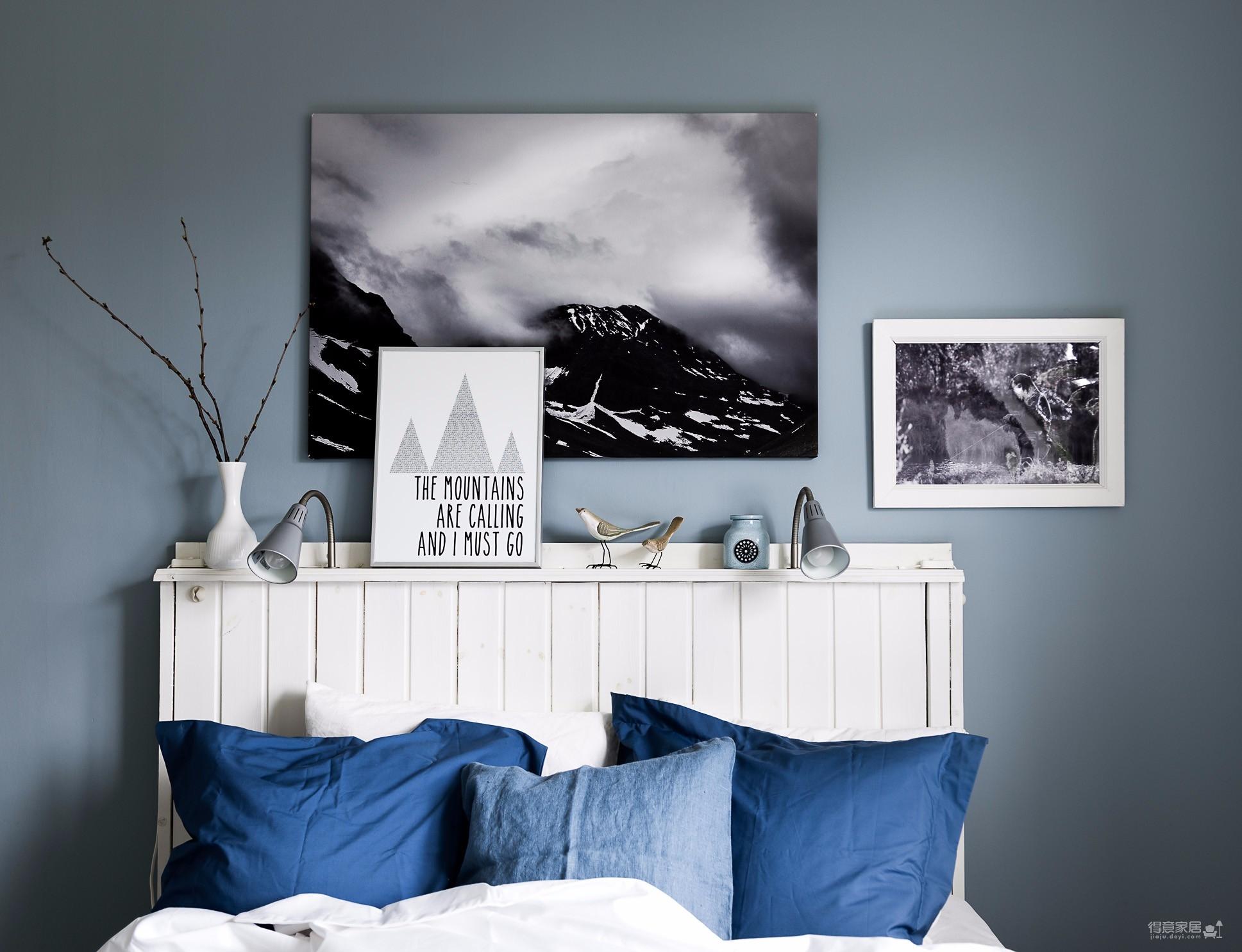 68平米蓝色主题公寓 色调的雅致是精髓