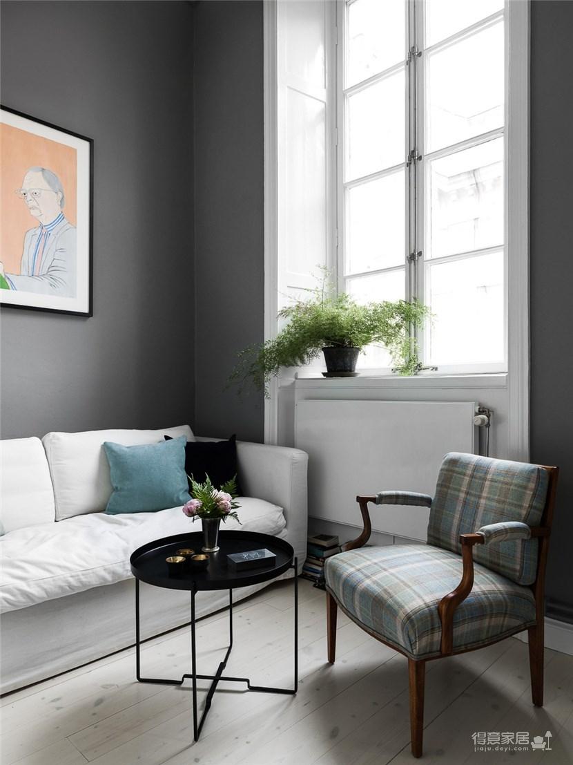 灰色主题loft,极简中的沉静图_2