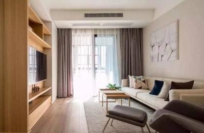 93㎡三室一厅案例,清新脱俗的日式美家