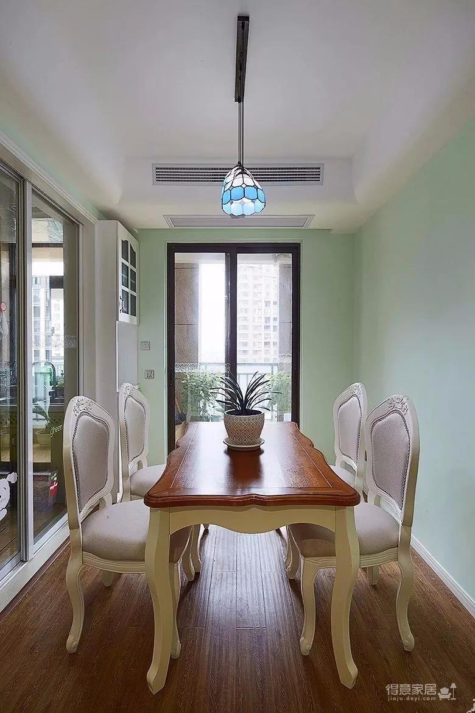 89㎡地中海,客厅的吊扇灯,有档次!图_10