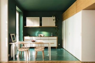 轻巧舒适现代公寓