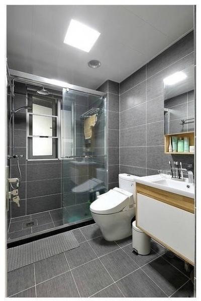 96㎡三室两厅北欧风,色彩鲜明且简洁利落