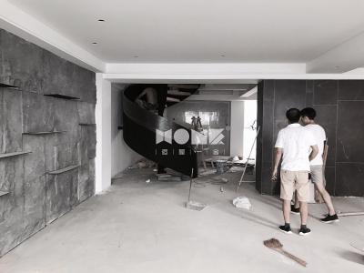天下国际公馆 · 楼梯安装