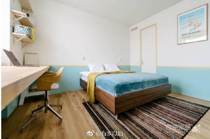 55平清新马卡龙小公寓