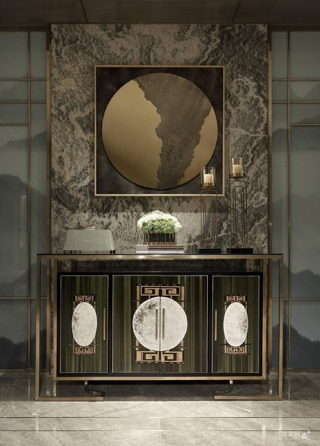 简欧家居设计,将东西文化与艺术以当代手法融会贯通!