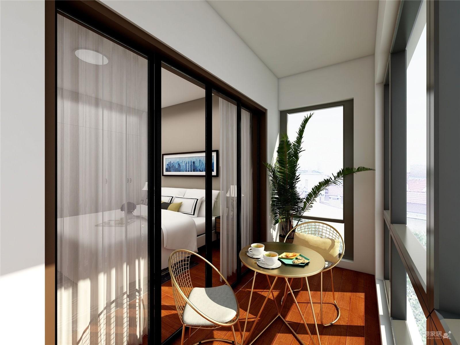 139㎡三室二厅后现代风打造优雅明媚的家
