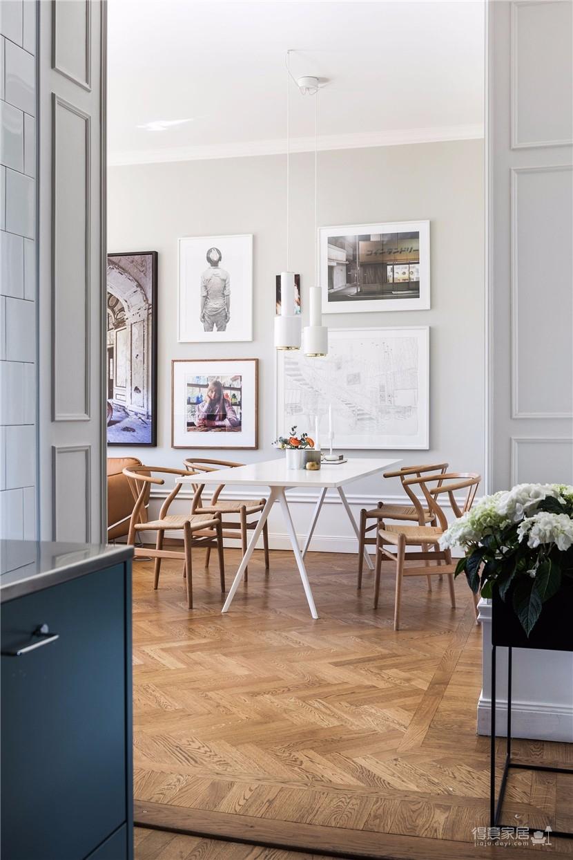北欧风92平米公寓,内里充满艺术气息图_5