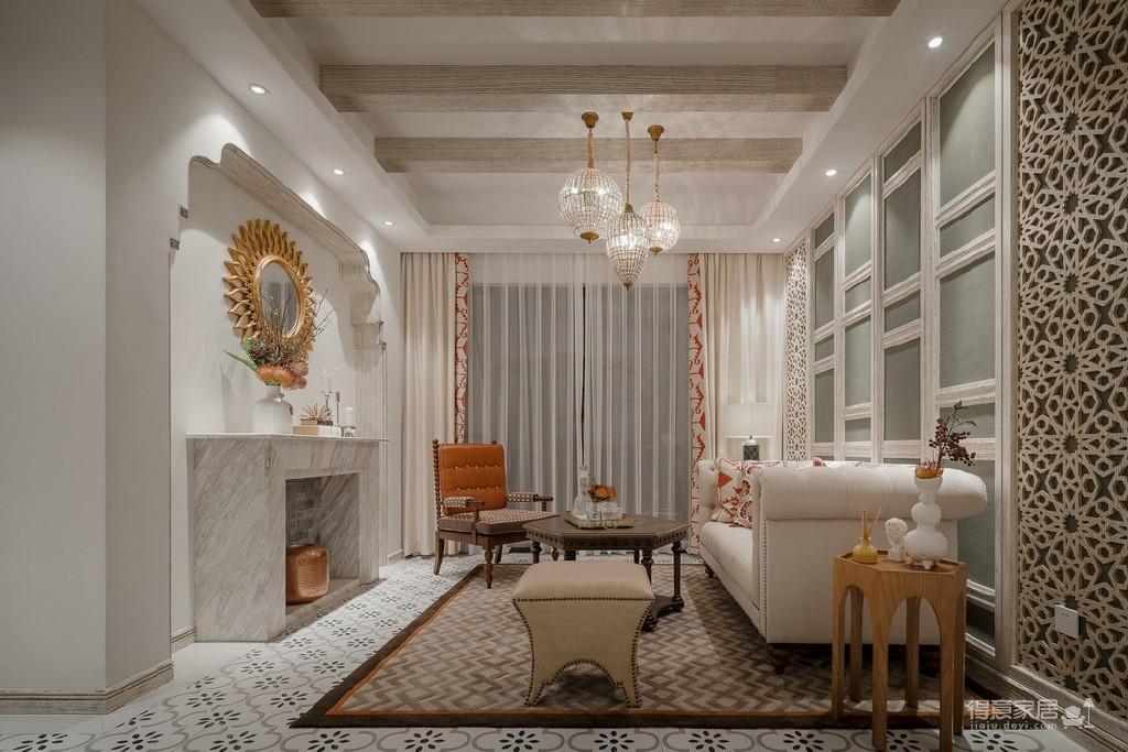 摩洛哥风格家居,精致而又柔美!