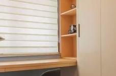 以墨绿为背景色 内敛低调的新加坡风格125㎡三室住宅图_7