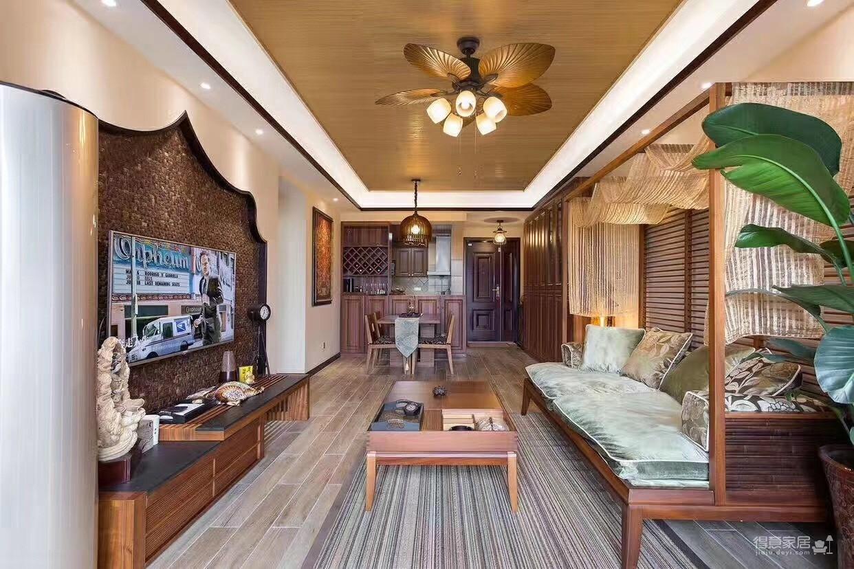 艳丽的东南亚风格,不愧是家装行业的热潮