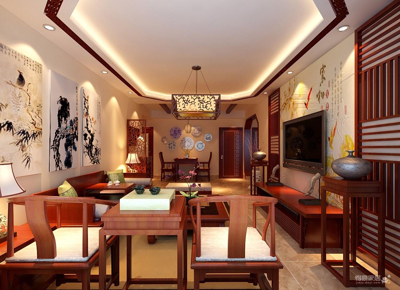 12万传统古典中式风格设计方案