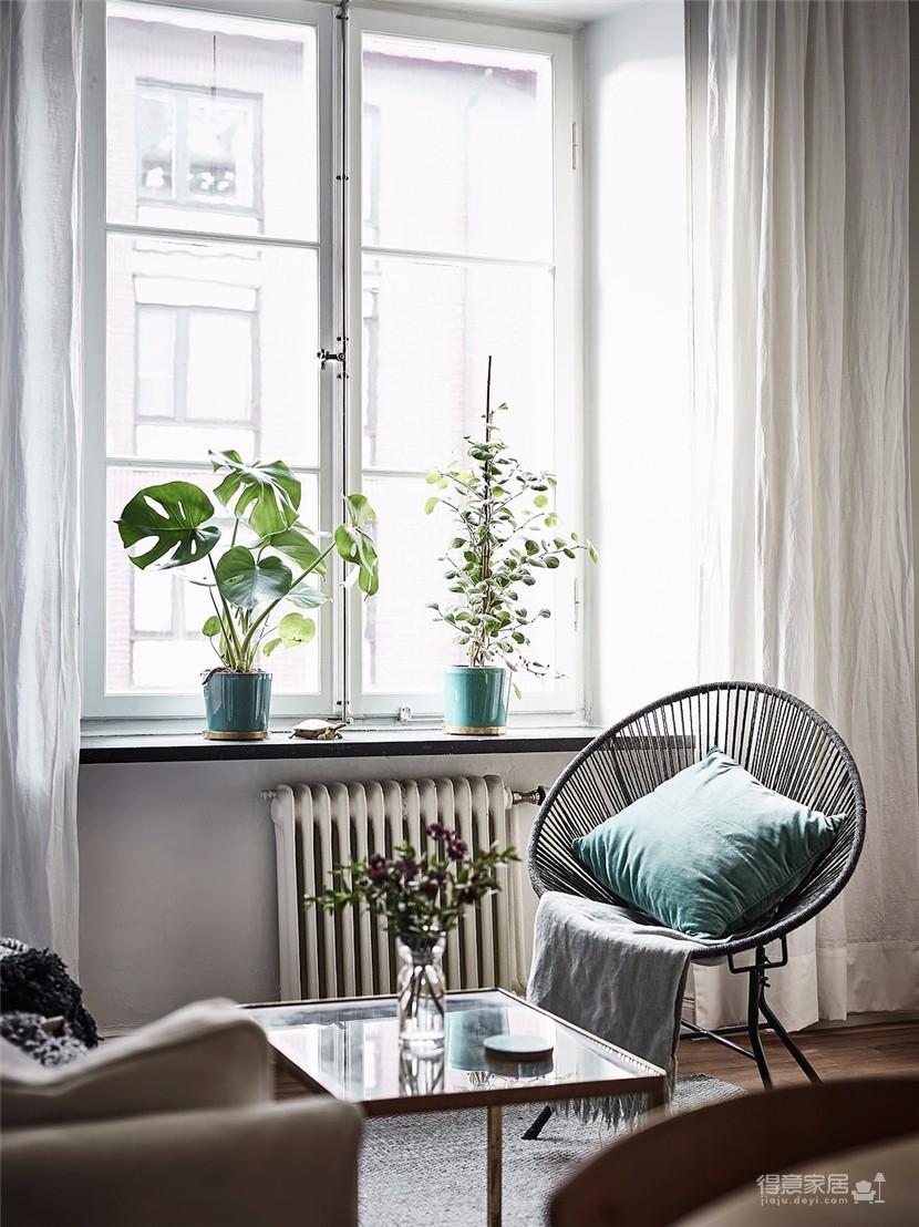 54平米北欧风格公寓