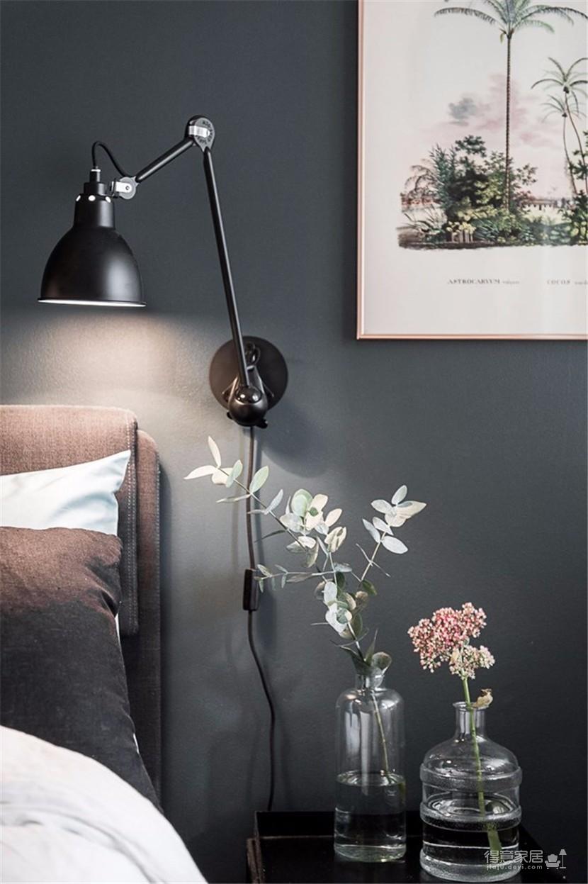 黑白灰色系简约北欧公寓 色彩空间永远不会错