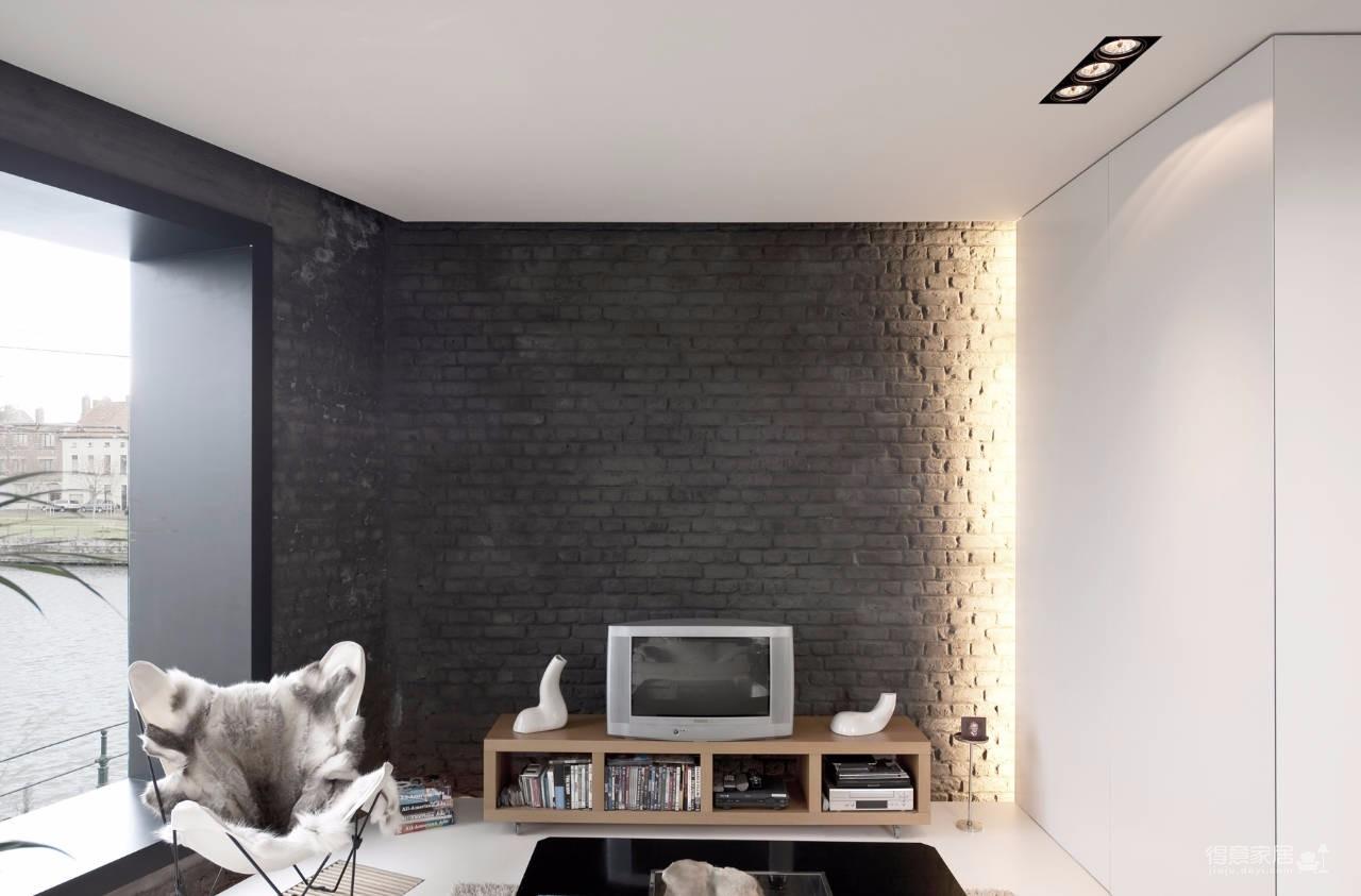 黑白+原木色,把现代简约风诠释的淋漓尽致