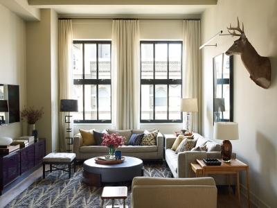 纽约翠贝卡阁楼公寓设计,亮点满满