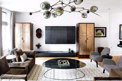 摩登现代时尚三居室