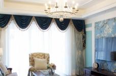 120平米美式风格装修,休闲四居室图_3