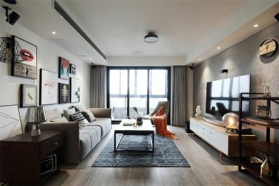 145平混搭 北欧+工业风公寓房