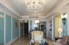 120平米美式风格装修,休闲四居室图_2