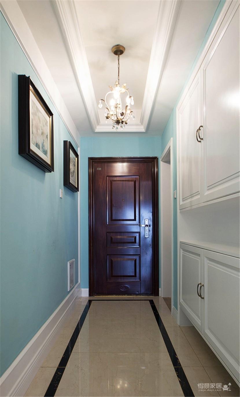 120平米美式风格装修,休闲四居室图_6