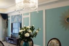 120平米美式风格装修,休闲四居室图_4