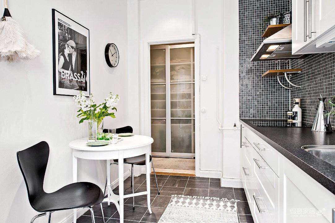 瑞典明亮轻快公寓,亮点满满