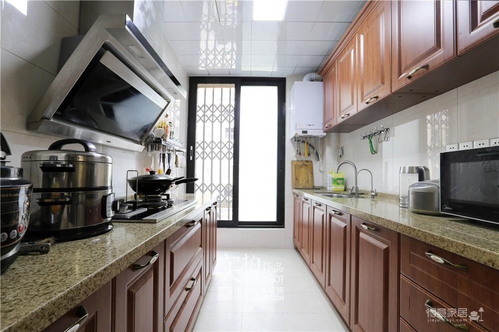 【新中式】147平四室两厅楚天都市雅园新中式装修效果