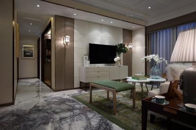 后现代三居室,时尚与实用的完美结合