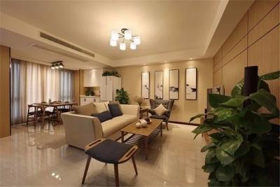 110㎡新中式三房,独特又漂亮