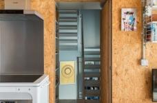 甘蔗板原来能这样用!伦敦53㎡工业风顶楼公寓图_12