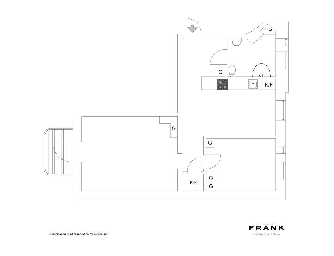 瑞典69平L型现代时尚公寓,自然通透图_5