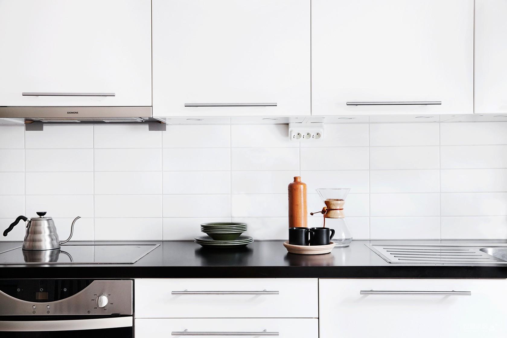 瑞典69平L型现代时尚公寓,自然通透图_7
