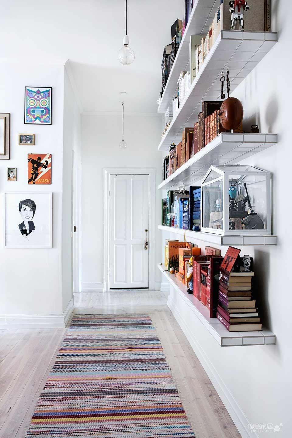 瑞典69平L型现代时尚公寓,自然通透图_4