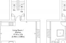 甘蔗板原来能这样用!伦敦53㎡工业风顶楼公寓图_5