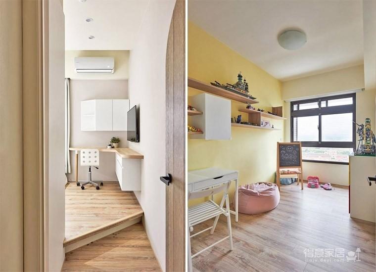 台北25坪温馨木质感住宅,收纳力满满