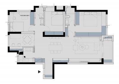 """首发 一套房子7种不同配色方案,现代简约风也能如此出""""彩""""!"""