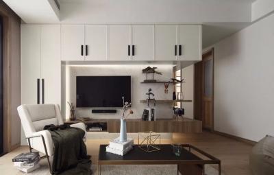108㎡现代简约三居 装饰性与实用性兼得