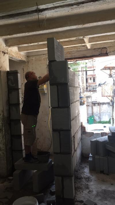 【旧房全翻】砌墙