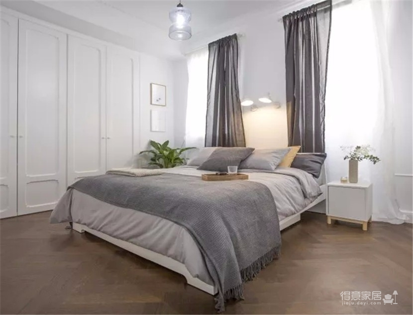 60平米公寓改造 简单色彩打造舒心小家