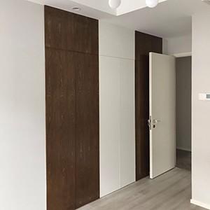 美美的窄门套线木门终于安装好啦