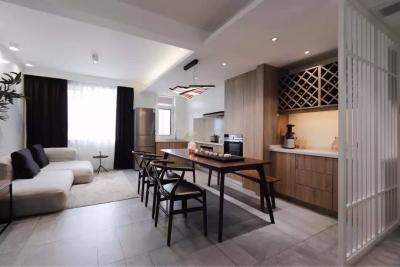 新中式风二居室 简单又有禅意
