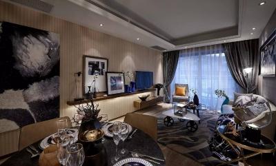 欧式三居室,尽显大气艺术范儿