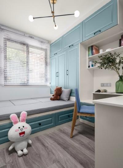 62㎡柔和北欧风格二居室,功能强大的榻榻米好漂亮,整个空间清新惬意!