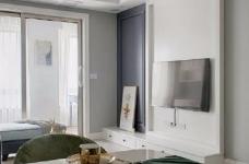 80㎡北欧风格小窝,浅浅的灰色十分有格调,精致而舒心图_4
