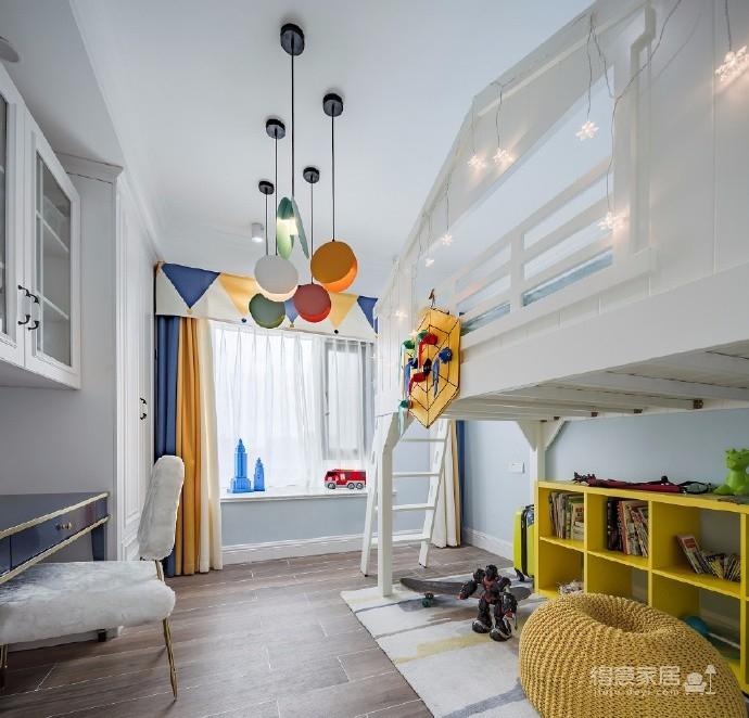 清新简约美式风格家居设计,整个空间精致而温馨,超爱!