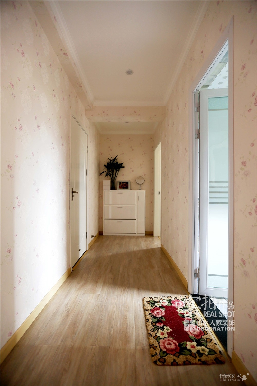【菩提苑】147平三室两厅欧式装修效果图_3