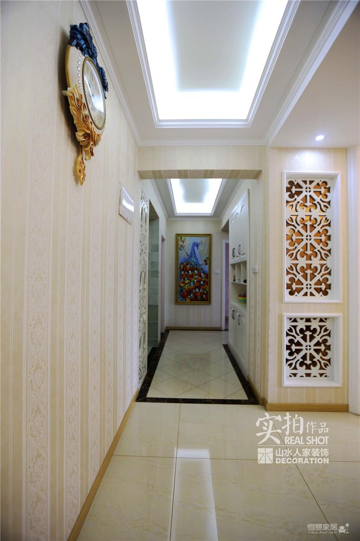 【菩提苑】147平三室两厅欧式装修效果图_2