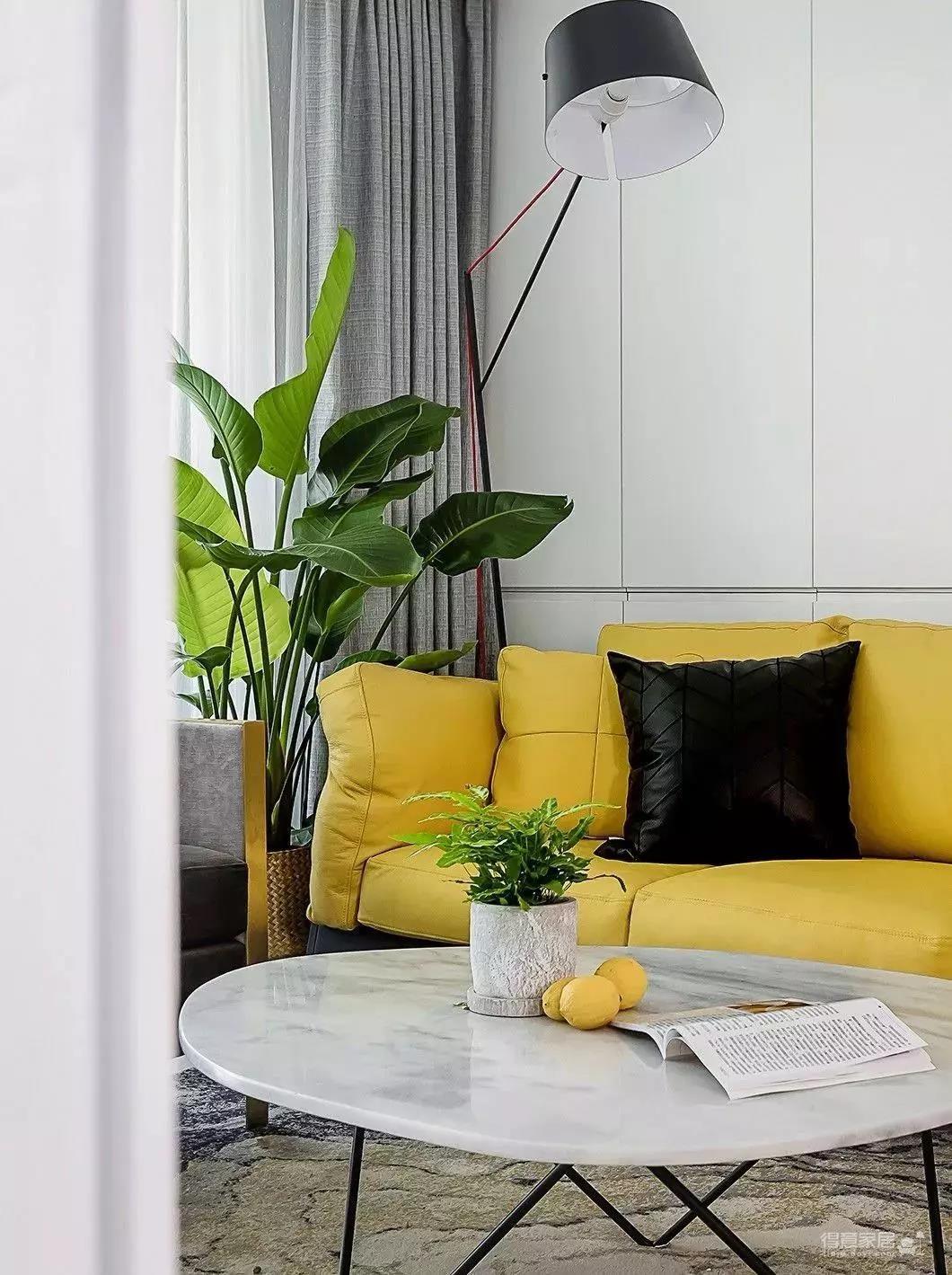 140㎡北欧,暖心艳丽的色调,满屋舒适的气息图_4