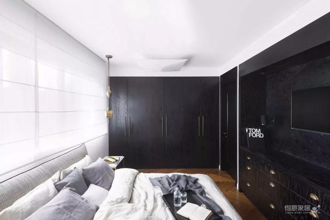 海赋江城129黑白灰户型设计赏析